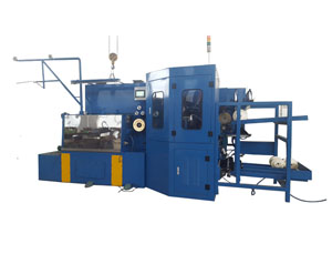 Automatic Bobbin Changing (Stainless) Steel Fine wire Drawing Machine