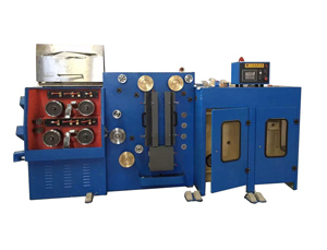Double-Wire Drawing MachineWith Continuous Annealing